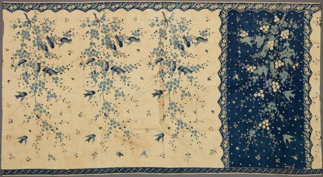 Woman's Sarong, 1910, Indonesia: Java, Pekalongan, batik on commercial cotton, Dallas Museum of Art, gift of Mr. and Mrs. Jerry Bywaters in memory of Paul and Viola van Katwijk 1982.283