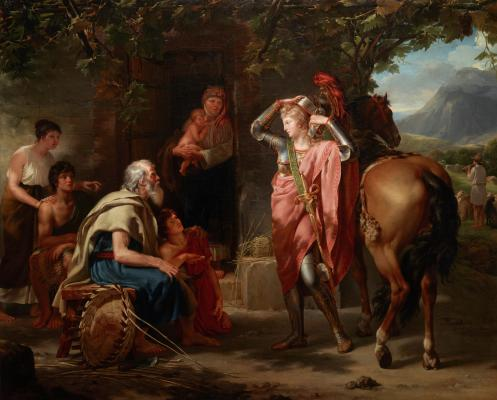 Guillaume Lethière, Erminia and the Shepherds, 1795, oil on canvas, Dallas Museum of Art, Foundation for the Arts Collection, Mrs. John B. O'Hara Fund, 2013.1.FA