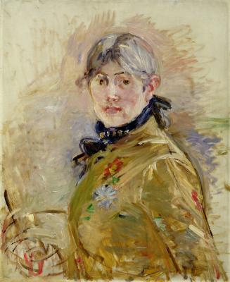 Berthe Morisot, Self-Portrait, 1885, oil on canvas, Musée Marmottan-Claude Monet, Fondation Denis et Annie Rouart, Photo courtesy Musée Marmottan Monet, Paris, France / Bridgeman ImagesBerthe Morisot, Self-Portrait, 1885, oil on canvas, Musée Marmottan-Claude Monet, Fondation Denis et Annie Rouart, Photo courtesy Musée Marmottan Monet, Paris, France / Bridgeman Images