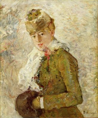 Berthe Morisot, Winter, 1880, oil on canvas, Dallas Museum of Art, Gift of the Meadows Foundation, Incorporated, 1981.129