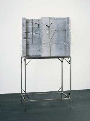 Isa Genzken, Door (Tür), 1988, concrete and steel, Dallas Museum of Art, gift of The Rachofsky Collection and purchase through the TWO x TWO for AIDS and Art Fund, 2006.46.