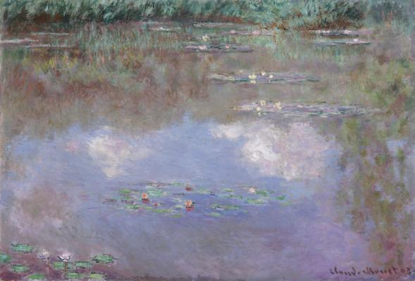 Claude Monet, The Water Lily Pond, 1903, oil on canvas, Dallas Museum of Art, The Eugene and Margaret McDermott Art Fund, Inc.