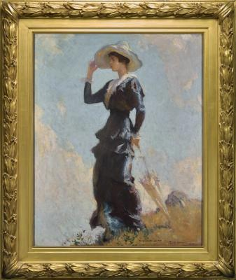 Frank Weston Benson, The Hill Top, 1914, oil on canvas, The May Children's Trust