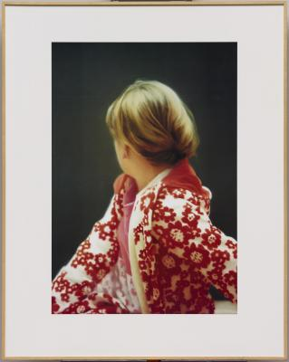 Gerhard Richter, Betty, 1991, offset lithograph, laminated, plastic panel, white card, nitro varnish, Dallas Museum of Art, Dallas Museum of Art League Fund, Roberta Coke Camp Fund, General Acquisitions Fund, TWO x TWO for AIDS and Art Fund, and the Contemporary Art Fund: Gift of Mr. and Mrs. Vernon E. Faulconer, Mr. and Mrs. Bryant M. Hanley, Jr., Marguerite and Robert K. Hoffman, Howard E. Rachofsky, Deedie and Rusty Rose, Gayle and Paul Stoffel, and two anonymous donors, 1999.265