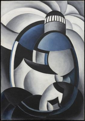 Ida Ten Eyck O'Keeffe, Variation on a Lighthouse Theme II, c. 1932, Private Collection; Ida Ten Eyck O'Keeffe