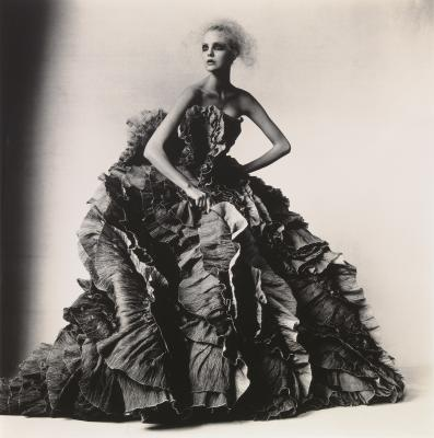 Irving Penn, Ball Dress by Olivier Theyskens for Nina Ricci, Copyright © Condé Nast