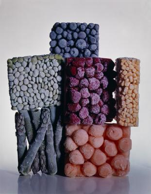 Irving Penn, Frozen Foods,Copyright © The Irving Penn Foundation