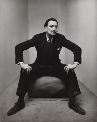 Irving Penn, Salvador Dali, © The Irving Penn Foundation