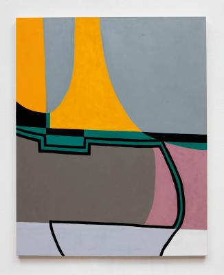 Ludwig Schwarz, Untitled (LBC4), 2015, oil on canvas, T43968.4