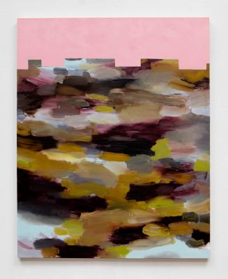 Ludwig Schwarz, Untitled (LBC8), 2015, oil on canvas, T43968.5