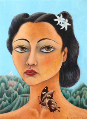Rosa Rolanda, Self-portrait, 1939, oil on canvas, Colección Andrés Blaisten, Mexico