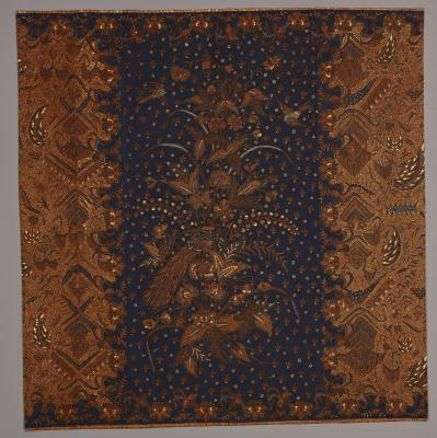 Sarong, Java, Surakarta, Indonesia, Asia, 1920, Batik on commercial cotton, Dallas Museum of Art, General Acquisitions Fund 1981.88
