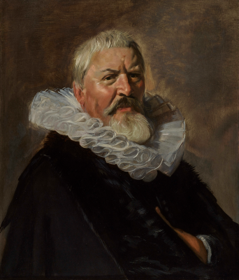 Frans Hals, Portrait of Pieter Jacobsz. Olycan, 1629–1630, oil on panel, Private Collection, Courtesy of David Koetser Gallery, Zurich