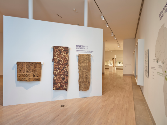 Wearable Raffia from Africa at the Dallas Museum of Art