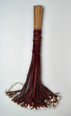 Culture: Chancay, Representation of a tree (element for figural scene), 1000–1460, camelid fiber and reed, Dallas Museum of Art, the Nora and John Wise Collection, bequest of Nora Wise, 1989.W.2456