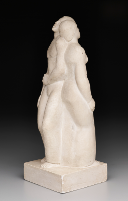 Dorothy Austin, Slow Shuffle, c. 1939, carved plaster, Texas Art Fund and Early Texas Art Fund, 2001.47