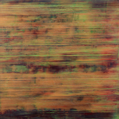 Jack Whitten, Slip Zone, 1971, acrylic on canvas, Dallas Museum of Art, TWO x TWO for AIDS and Art Fund and gift of The Rachofsky Collection, 2010.26.1, © Jack Whitten Estate. Courtesy the Jack Whitten Estate and Hauser & Wirth