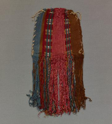 Peru, Bag with fringe, cotton and camelid fiber, Dallas Museum of Art, the Nora and John Wise Collection, bequest of Nora Wise, 1989.W.2416