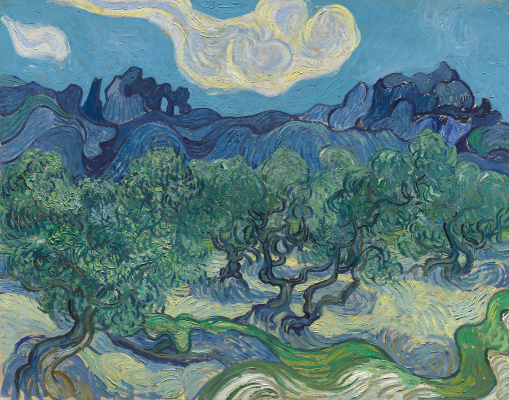 Vincent van Gogh, The Olive Trees, June 1889, oil on canvas, The Museum of Modern Art, New York, Mrs. John Hay Whitney Bequest. Digital Image © The Museum of Modern Art/Licensed by SCALA / Art Resource, NY