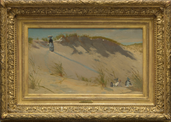 Winslow Homer, The Sand Dune, 1871-1872, oil on canvas, The Collection of Eleanor and C. Thomas May, Jr.